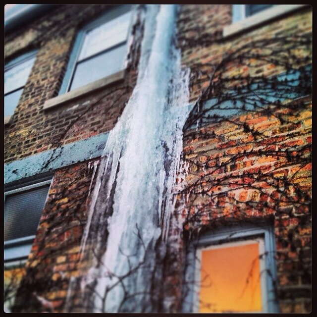 Wordless Wednesday-Waterfall of Ice