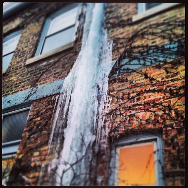 Wordless Wednesday-Waterfall of Ice
