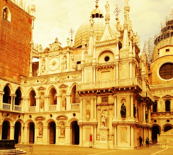 The Doge's Palace is simply stunning!
