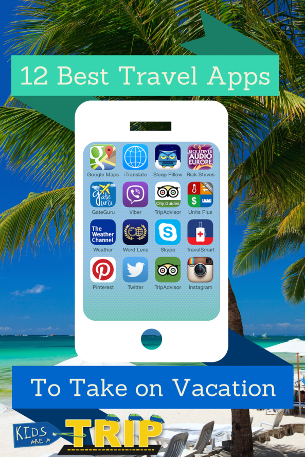 12 Travel Apps
