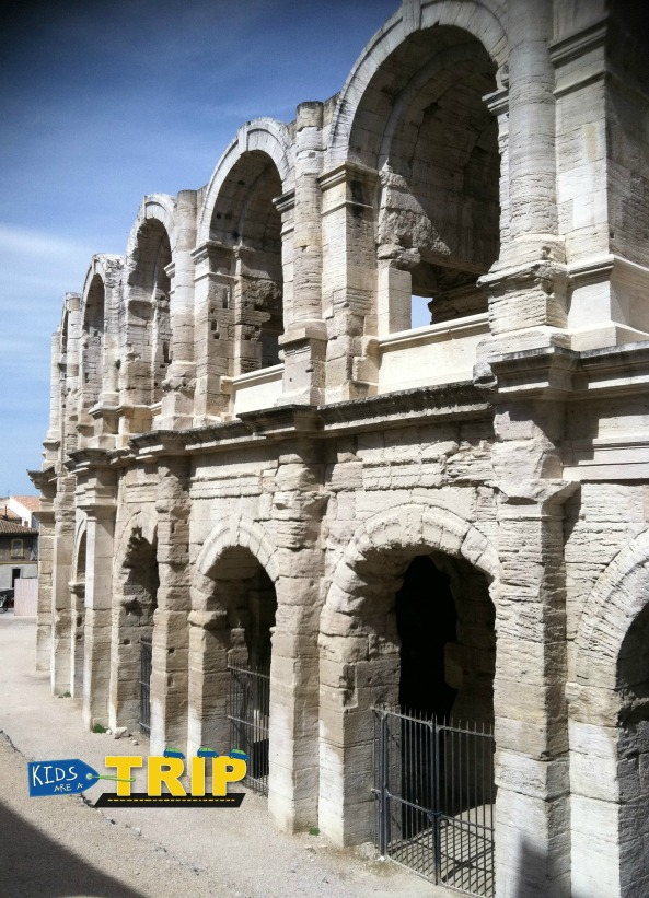 Ampitheater of Arles, Provence, France