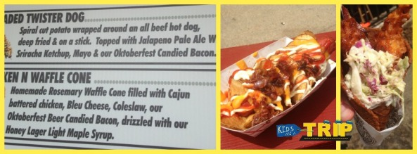Twister Dog Chicken Waffle