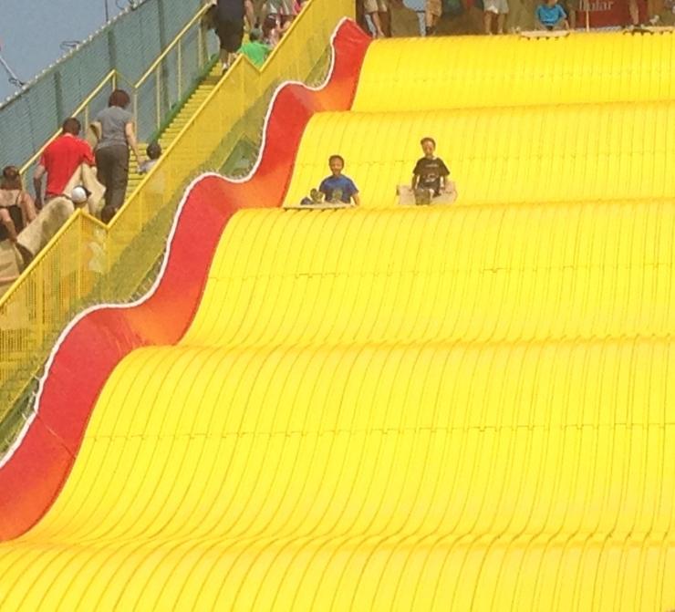 Giant slide fair